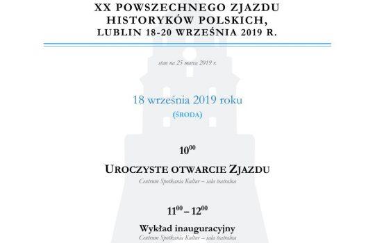 Program Naukowy XX PZHP już dostępny.